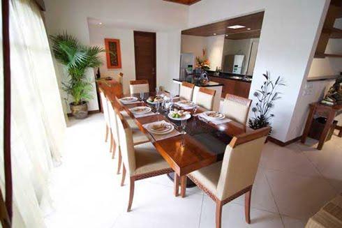 Villa Seriska Sanur Dining Room