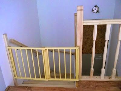 barierka z łóżeczka, balustrada schodowa