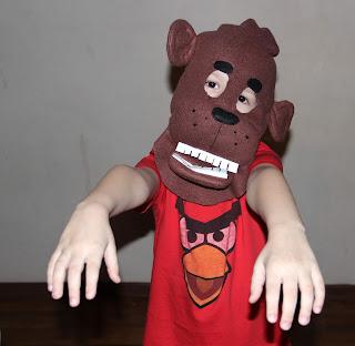 пять ночей с Фредди маска мишка Фредди