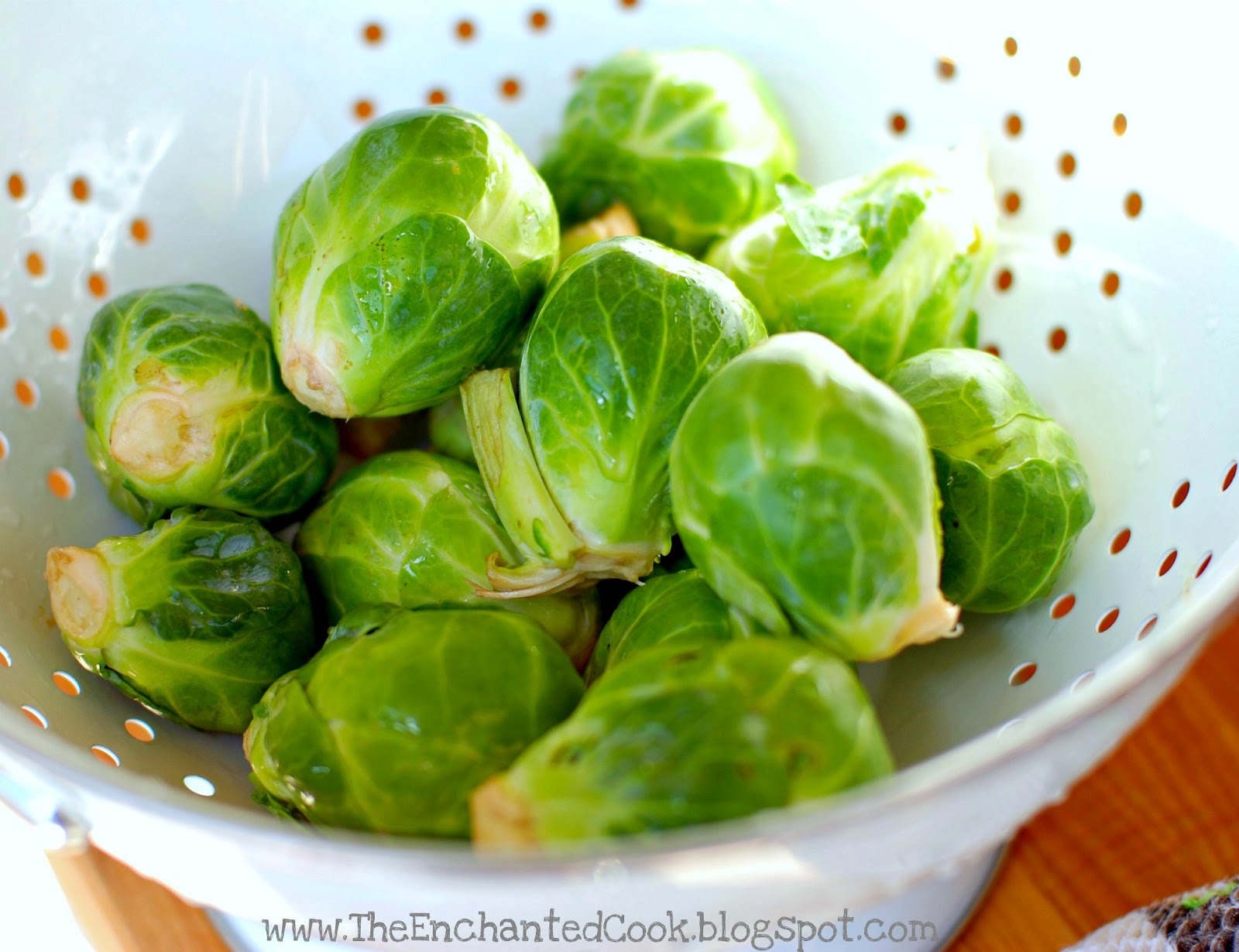 The Enchanted Cook: The Easiest and Best Roasted Brussels Sprouts Ever