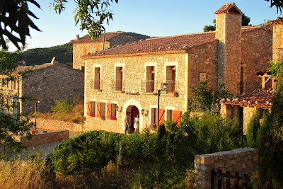 Typical stone house in Siurana