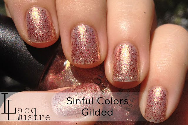 Sinful Colors Gilded  swatch