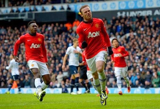Highlights Manchester United vs Aston Villa - Liga Inggris 29 Maret 2014