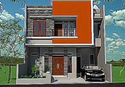 Gambar Tampak Depan Desain Rumah Minimalis 2 Lantai   Propertif