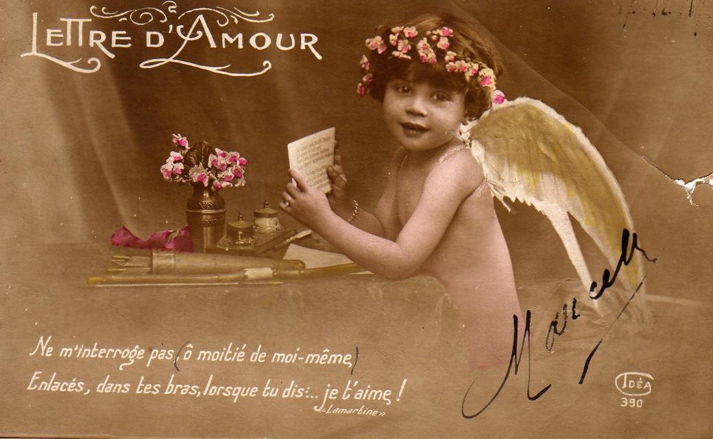 Поздравление до дня святого валентина на французском