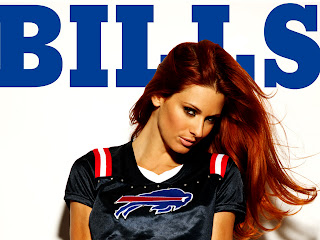 Nfl Buffalo Bills T-shirt Wearing Girl HD Wallpaper