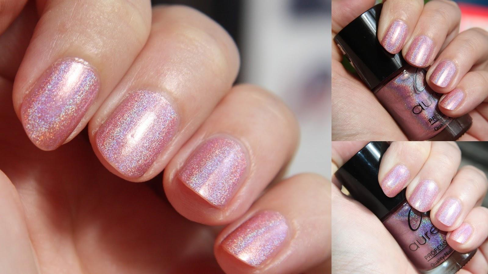 Лак для ногтей с голографией фото