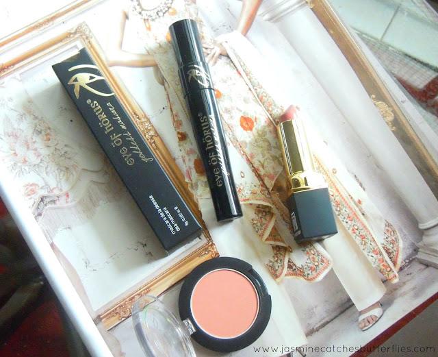 Eye of Horus Goddess Black Mascara Review and Swatches