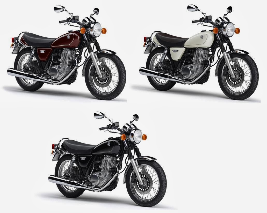 Motor Yamaha SR400 2014 Full Specs Color