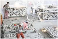 proses produksi ornamen pagar masjid