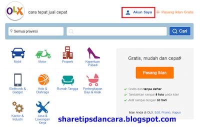 Beberapa situs jual beli online memang memudahkan kita untuk menjual barang yang kita mil Cara Praktis Jual Barang & Pasang Iklan Di OLX