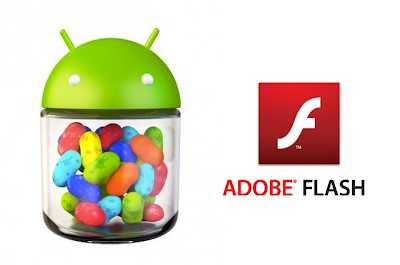 install latest version of Adobe Flash Player v 11.1.115.27 on any Jelly Bean device.
