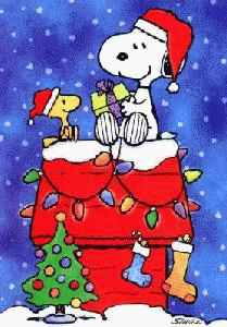 cliparts christmas snoopy