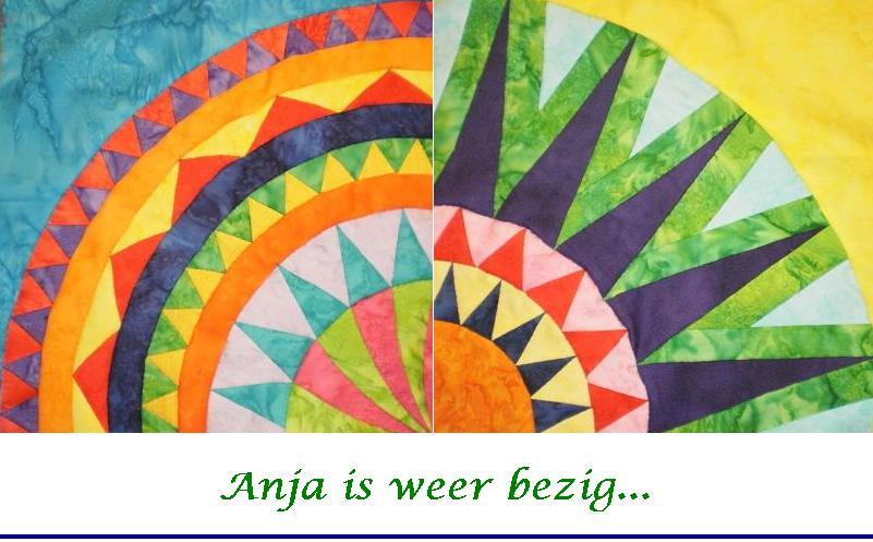 Anja is weer bezig...