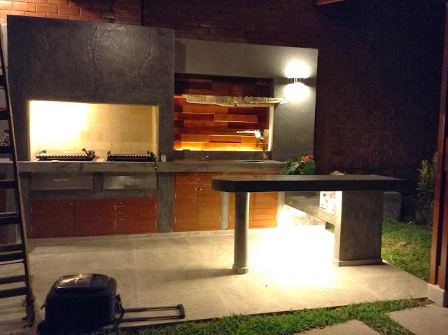 Oniria iluminaci n en parrilla de terraza for Asadores para jardin fotos