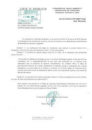 Respuesta de la Administración a nuestro escrito sobre la licitación de la limpieza de Montealto