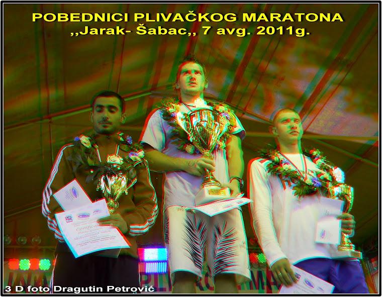 POBEDNICI  PLIVAČKOG  MARATONA  2011.