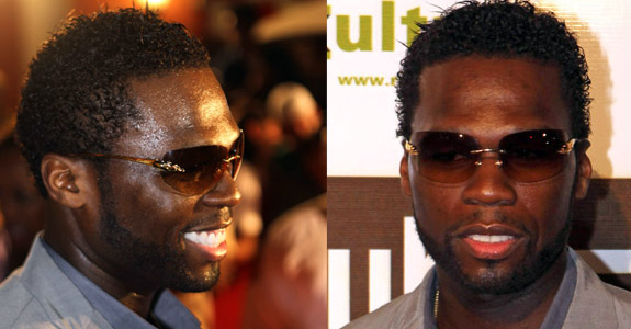 Blackmanwithblog 50 Cents Gets A New Jheri Curl Duke