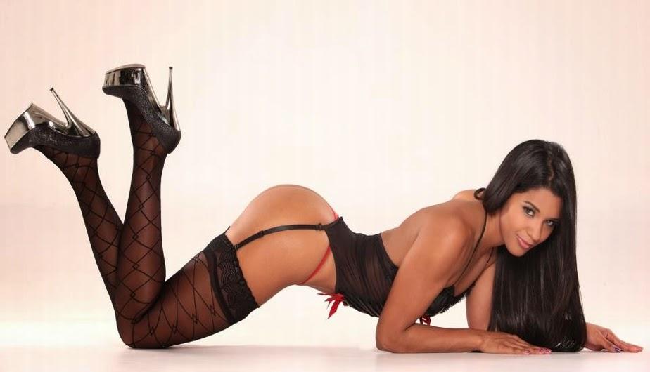 Rocío Miranda: Peruana, mulata, sexy, guapa, caliente, deportista... Chicas guapas 1x2.