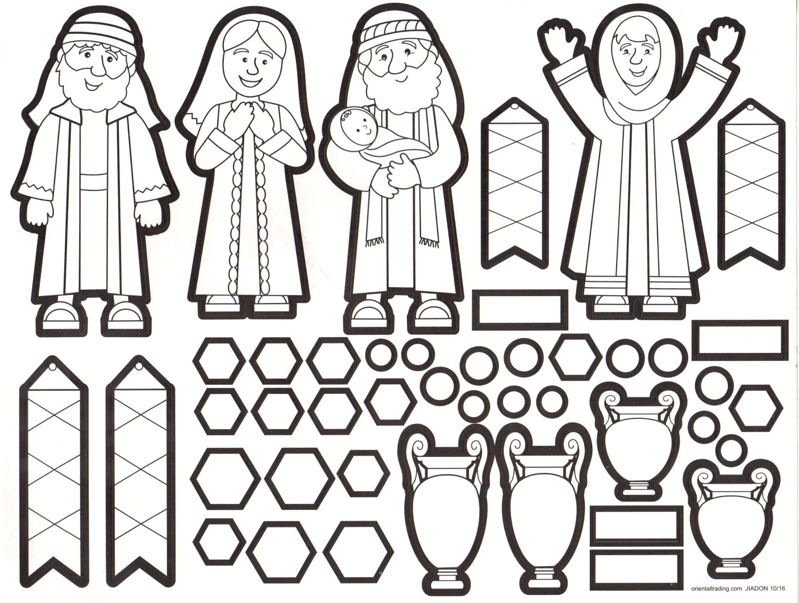 Petersham Bible Book & Tract Depot: Colour Your Own Simeon & Anna ...