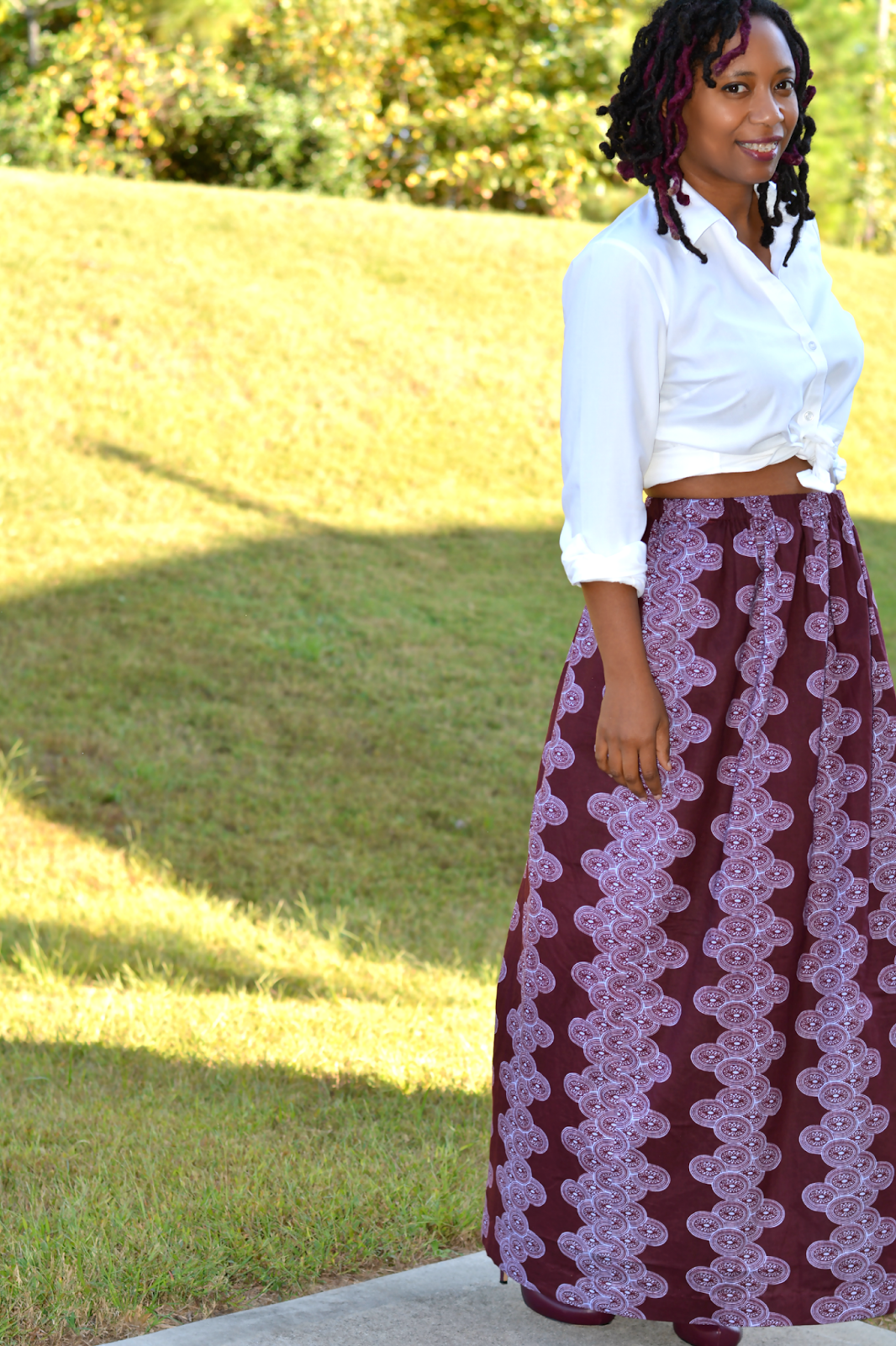 maxi skirt tutorial #FastDrySaveTime #shop