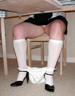 Cum in my wife pantie