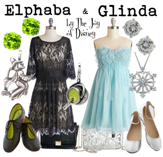 wizard of oz, wicked, elphaba and glinda, elphaba, glinda, fashion blog
