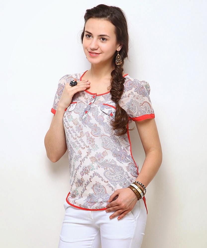 girly girl kurtis designs college fashion 2015