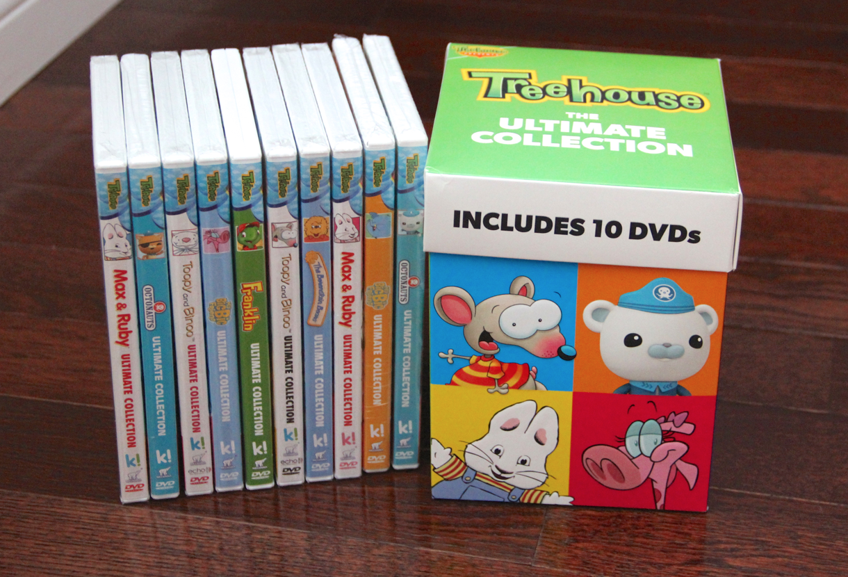 Treehouse Ultimate Collection - 10 DVDs