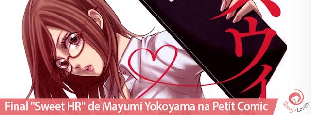 "Final de ""Sweet HR"" de Mayumi Yokoyama na revista Josei Petit Comic"