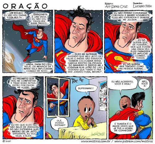Superman - Uma pequena Fanart e uma grande Lição