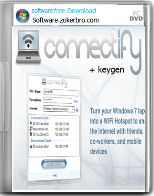 Connectify 3.4 Hot Spot Pro Full version + keygen