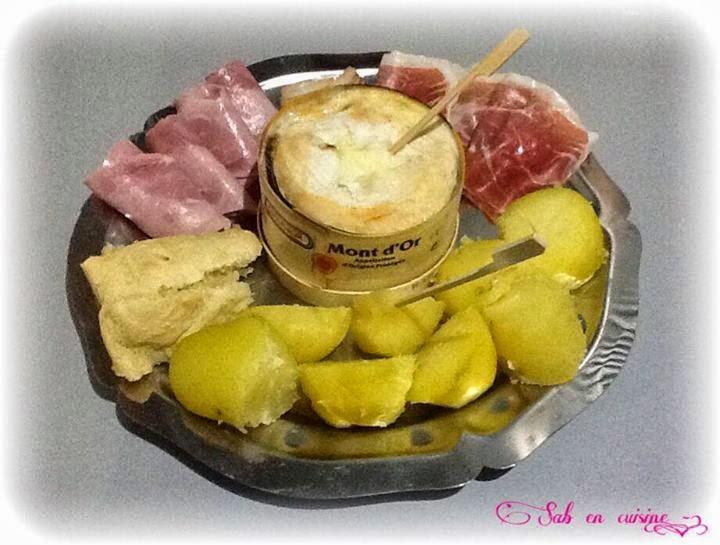 Sab en cuisine recettes faciles mont d 39 or au four - Recette fromage mont d or ...