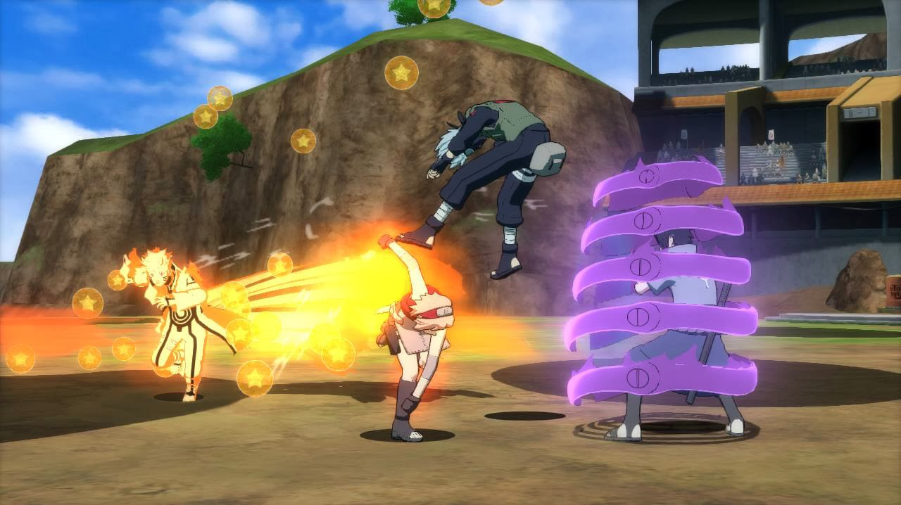 Storm Revolution Ninja World Tournament Mode Naruto