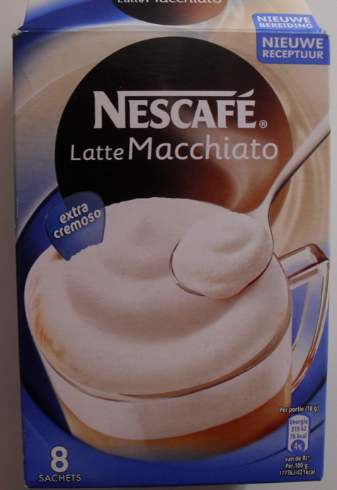 latte macchiato nescafe