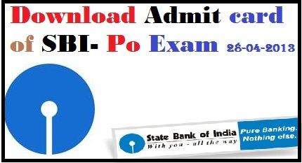 sbi, sbi.co.in, sbi po admit card, sbi po exam call letter download