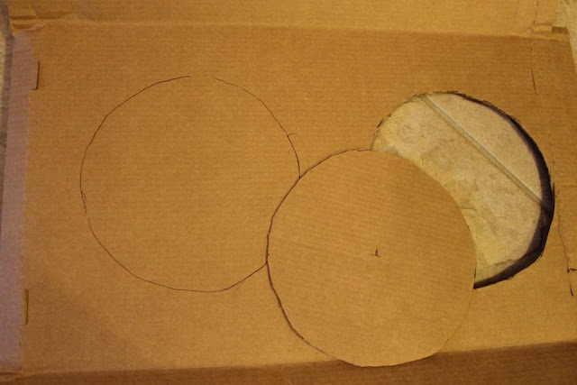 base for paper wreath