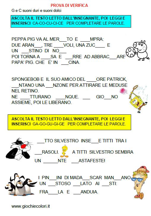 Favorito Italiano: Suoni Dolci E Suoni Duri - Lessons - Tes Teach WS19