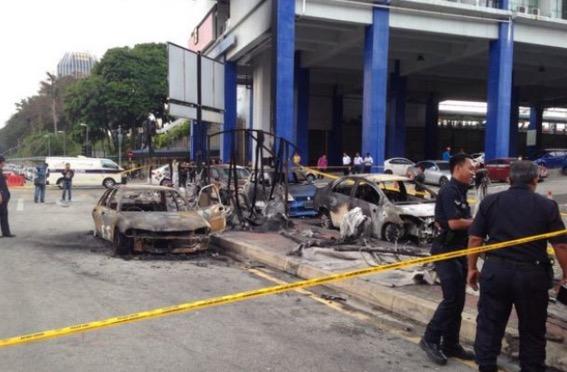 Punca sebenar enam kereta terbakar di stesen LRT Taman Jaya