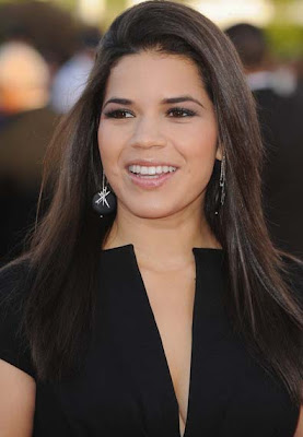 America Ferrera Diamond Sphere Earrings
