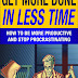Get More Done in Less Time - Free Kindle Non-Fiction