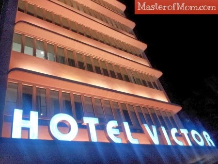 hotel victor marquee