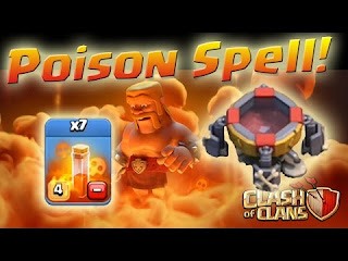 Strategi Penggunaan The Dark Spell Factory Clash of Clans