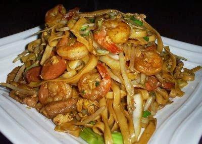 Resep Membuat Kwetiau Goreng Special Seafood