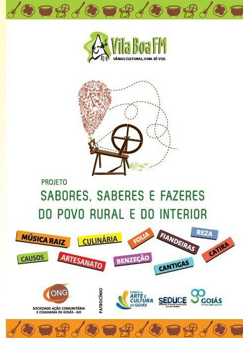 PROJETO SABORES, SABERES E FAZERES DO POVO RURAL E DO INTERIOR