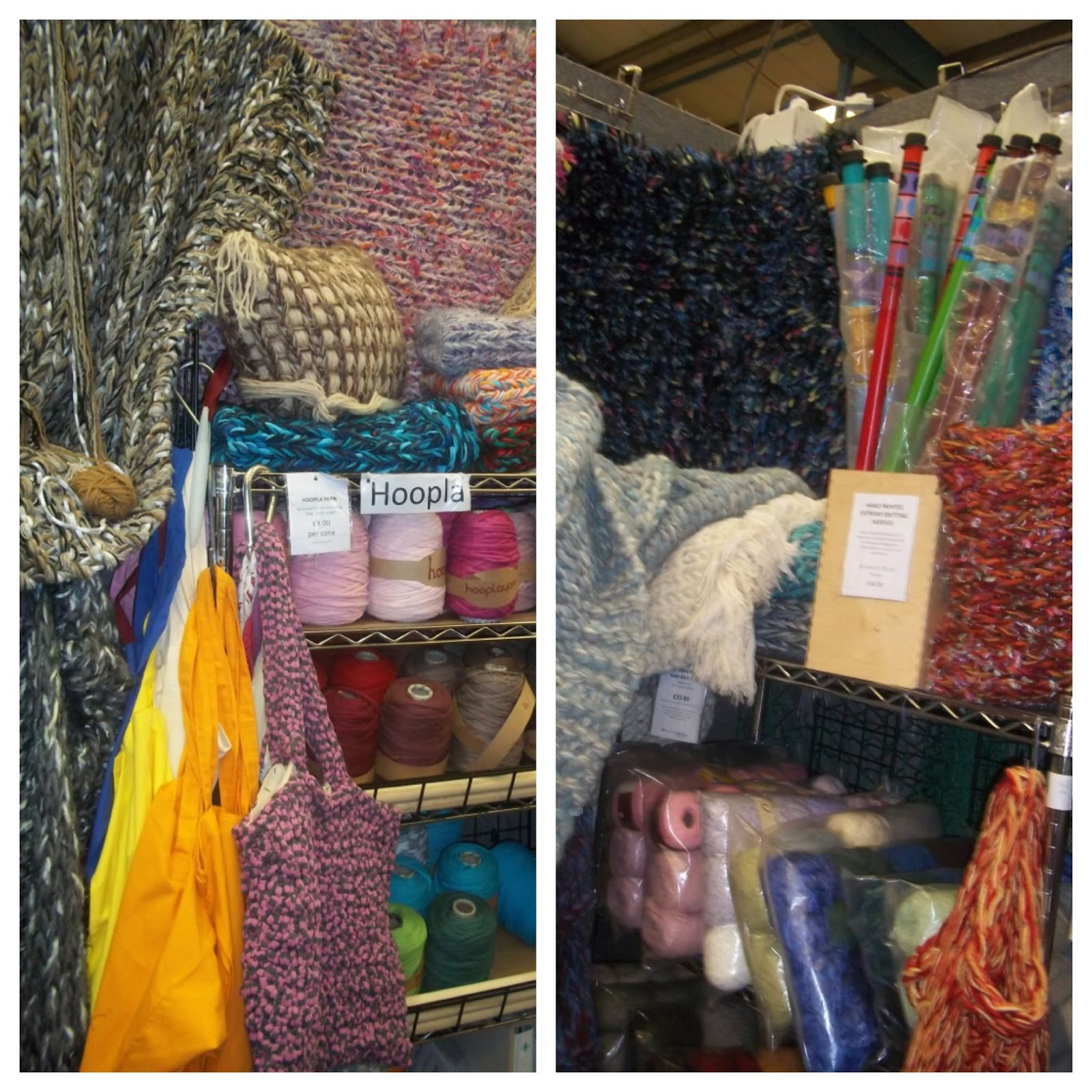Knit And Stitch Show Shepton Mallet : HMT Mixed Media Artist: EXTREME KNITTING