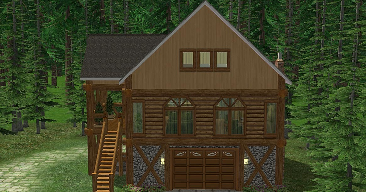 Moar stuff for about the sims log cabin residential lot for Cabin lots