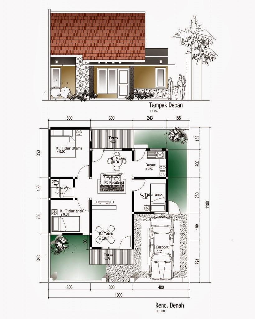 Contoh Rancangan Rumah Minimalis Kumpulan Gambar Desain Terbaru