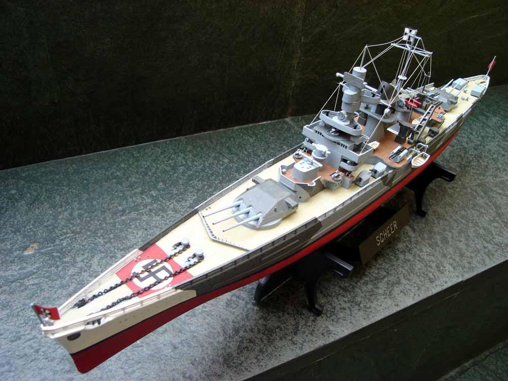 Erick Navas Modelismo Naval: DKM Admiral Scheer