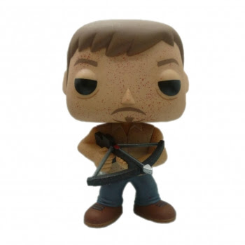 "San Diego Comic-Con 2013 Exclusive The Walking Dead Bloody Daryl Dixon 9"" Pop! Vinyl Figure by Funko"